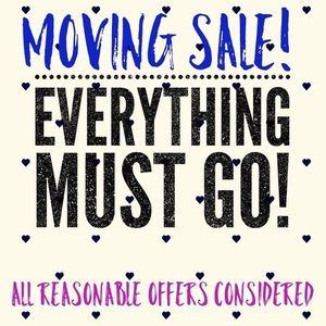 💕moving sale💕